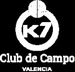 K7 logo blanco